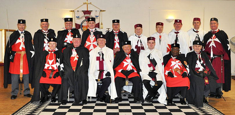 Another very special (K)Night at the Preceptory of Croydon No 196